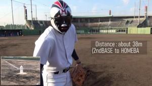 野球マスクマン